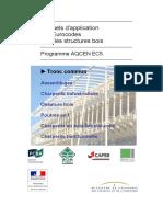 [AQCEN] - EC5 GT1 Tronc commun- Recommandations générales des Eurocodes 0, 1 et 5 appr. les structures de bâtiments en bois