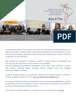 Boletín Red Latinoamericana y del Caribe de abril 2018
