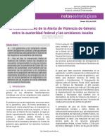 Informe Senado_Aleta Violencia género