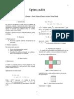 Informe Optimizacion