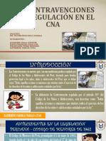DIAPOSITIVAS - LAS CONTRAVENCIONES Y SU REGULACIÓN EN EL CNA.pdf