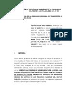 SOLICITUD DE NOMBRAMIENTO DE TRABAJADOR - D.LEG. 276.docx