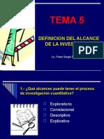 DEFINICIÓN DEL ALCANCE
