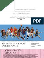 PRESENTACION SISTEMA NACIONAL DEL DEPORTE