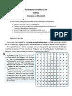 ACTIVIDADES DE MATEMÁTICA 10-8