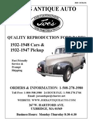 NOS 1941-48 Ford trunk handle retaining nut    E-4-6