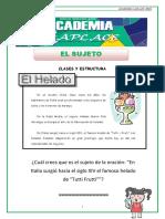 1°SEC_El Sujeto