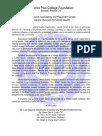 SPCF - ACAP Center Program Overview for Mental Health