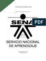 """ACTIVIDAD 7 EVIDENCIA No 3 Informe """"Identificación de las tecnologías de la información""""."""