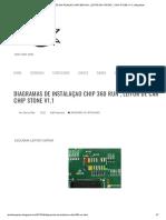 DIAGRAMAS DE INSTALAÇAO CHIP 360 RUN , LEITOR DE CARTAO , CHIP STONE V1.1 _ blog teste