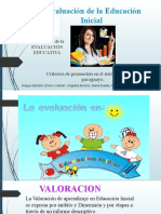 Presentación Criterio de Evaluacion de EI