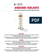 MI0042 MANUAL DO ANDAIME ISOLANTE rev.B ESPAÑOL.pdf