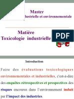 La toxicologie industrielle