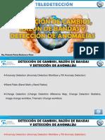 SESION 2 DETECCIÓN DE CAMBIOS, RAZÓN DE BANDAS Y DETECCIÓN DE ANOMALÍAS - PRESENTACIÓN