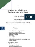 1.  Introducción a la Ciencia de Materiales