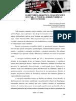 O MATERIALISMO HISTÓRICO-DIALÉTICO COMO ENFOQUE METODOLÓGICO PARA A PESQUISA SOBRE POLÍTICAS EDUCACIONAIS