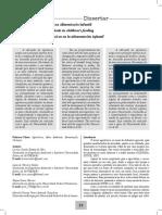 Influência dos agrotóxicos na alimentação infantil