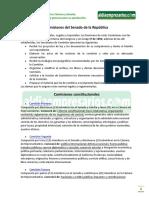 Comisiones del Senado de la República, Normas en Colombia