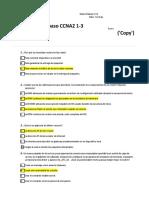 Quiz Preguntas de repaso CCNA2 1 3