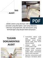 DOKUMENTASI AUDIT