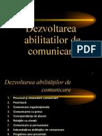 Dezvoltarea Abilitatilor de Comunicare