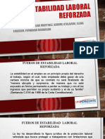 P ESTABILIDAD LABORAL REFORZADA GRUPO 2 (1).pptx