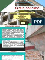 PATOLOGIAS ENE L CONCRETO - ANÁLISIS ESTRUCTURAL 1 - B1 - VICENTE RAMOS