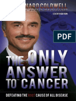The Only Answer to Cancer PDF by Dr  Leonard Coldwell