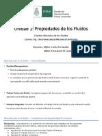 U1 - Propiedades de los Fluidos - Teorico