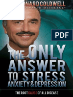 The Only Answer to Stress, Anxiety & Depression PDF by  Dr Leonard Coldwell