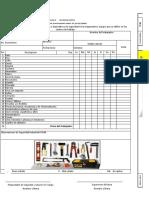 Check list GCD Herramienta manual