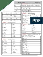 Chap 12 - Ex 1A - Définition de la racine carrée et calculs simples - CORRIGE
