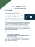 Identificación de competencias en edición para los profesionales de la información