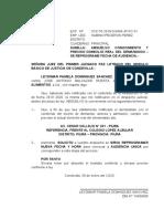 ABSUELVE CONOCIMIENTO_DOMICILIO DEMANDADO_PILAR FILOMENA VELASQUEZ CASALLO