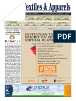 Global Textiles & Apparels Edition  - 21 August 2020