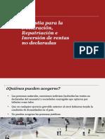Repatriación de Capitales PPT. 19.10.17(4)
