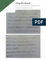 Ejercicio ortografia musical y celulas - Carlos Lopez