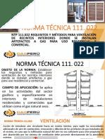NORMA TÉCNICA 111.022