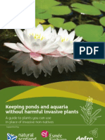 AQUATICS keeping ponds and aquaria without harmful invasive plants