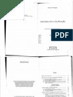 HEIDEGGER, Martin - Introducción a la Filosofía - GA 27.pdf