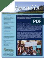 Boletín Naturalia 3 - 2010
