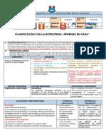 PROPUESTA DE PLANIFICACIÓN CON LA ESTRATEGIA APRENDO EN CASA (1)