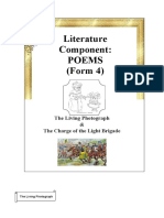 Poems (Form 4) - Notes & Exercise.docx