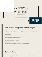 Synopsis Writing Guidelines & Samples.pptx