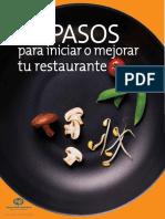 20 Pasos para Iniciar o Mejorar tu Restaurante - Nacional Financiera