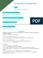 Expressions françaises à connaitre - 2ème partie