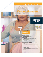 Lengua. Unidad 7- Con moderación