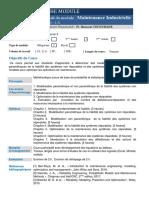 Fiche matière-Maintenance Industrielle- Méca2-Chouchane
