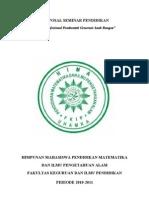 PROPOSAL SEMINAR PENDIDIKAN HIMA P MIPA-1