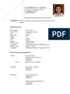 Resume Example For A Teaching Position Resume Sample Resume For     My Blog